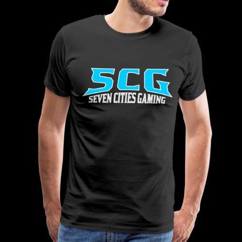 SCG TEXT LOGO - Men's Premium T-Shirt