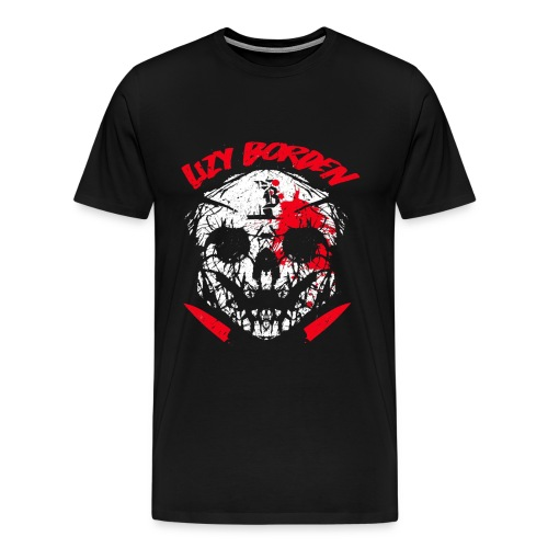 Lizy Borden Survival Skull - Men's Premium T-Shirt
