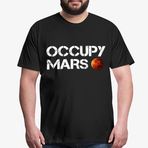 Occupy Mars Elon Musk T-Shirt - Men's Premium T-Shirt