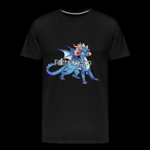 FaithDragon - Logo (Faith) - Men's Premium T-Shirt