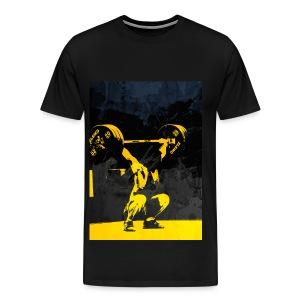 Weightlifting Olympics Snatch - Men's Premium T-Shirt