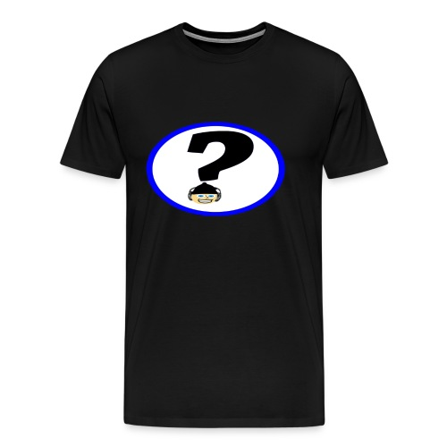 Mr Hat corner Logo - Men's Premium T-Shirt