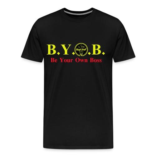 BYOB: Be Your Own Boss - Men's Premium T-Shirt