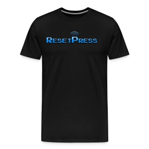 The ResetPress logo - Men's Premium T-Shirt