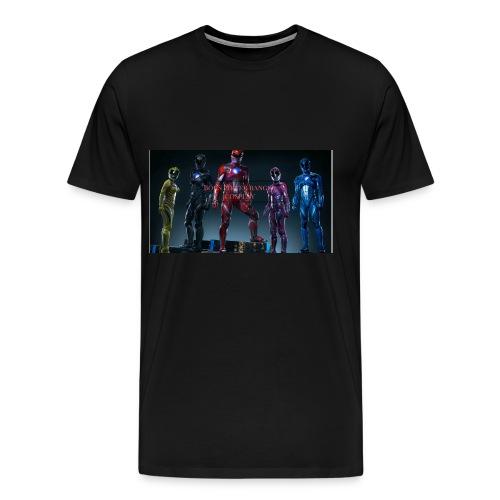 Boiis power ranger cosplay - Men's Premium T-Shirt