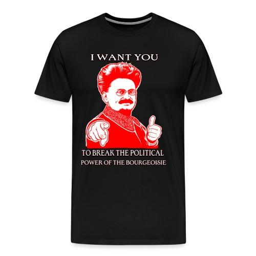 I want you... - Men's Premium T-Shirt