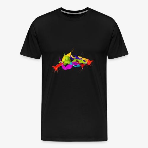 Paint Flow - Men's Premium T-Shirt