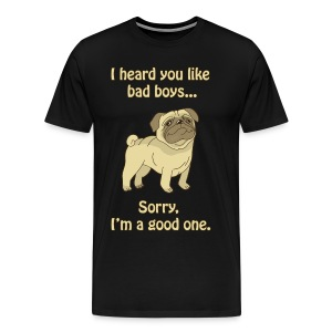 Good boy pug - Men's Premium T-Shirt