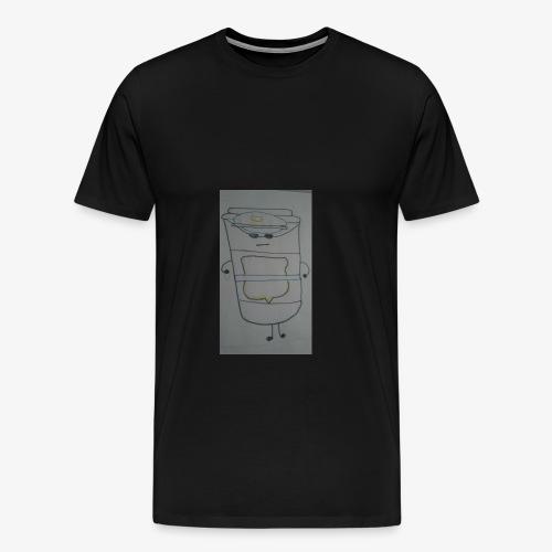 kawaii law enforcement travel coffee - Men's Premium T-Shirt
