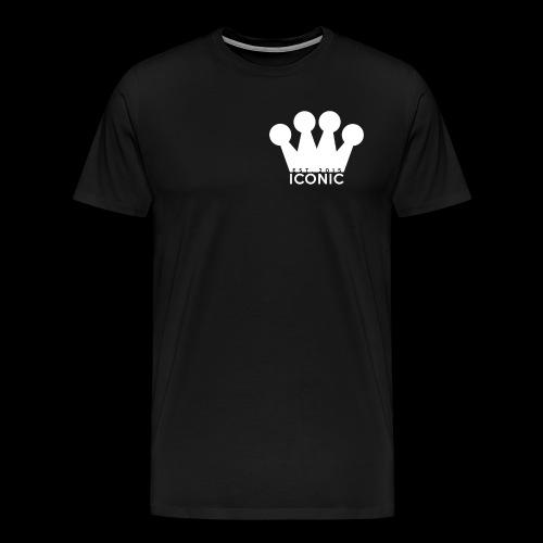 Iconic (Crown/Logo) - Men's Premium T-Shirt