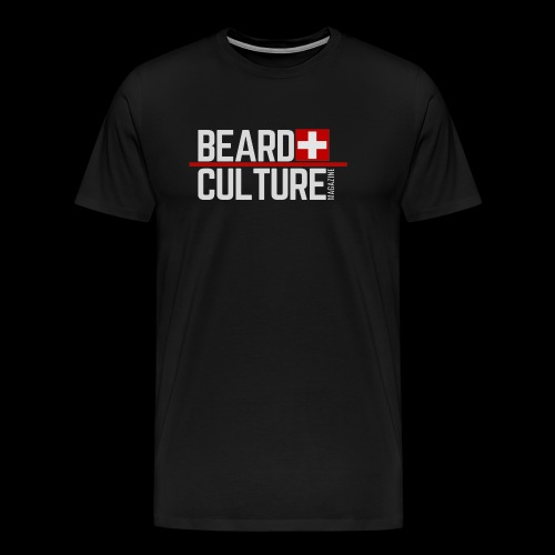 Beard Culture Magazine - Men's Premium T-Shirt