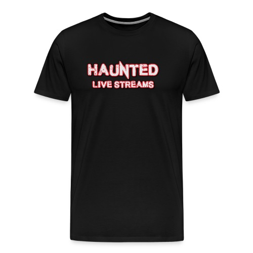 Official Haunted Live Streams Logo - Men's Premium T-Shirt