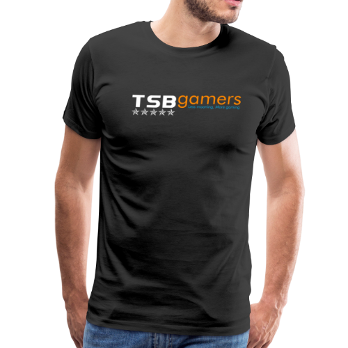 TSB White Website Logo FullColor - Men's Premium T-Shirt
