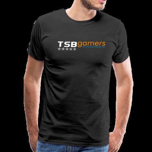 TSB White Website Logo FullColor - Men's Premium T-Shirt