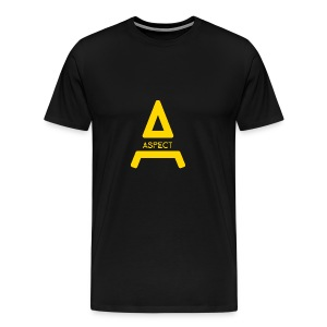 Limited Edition Gold Aspect Logo Sweatshirt - Men's Premium T-Shirt