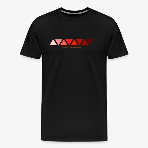 Red Triangles - Men's Premium T-Shirt