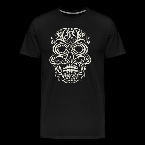 Sugar Skull Calavera - Men's Premium T-Shirt