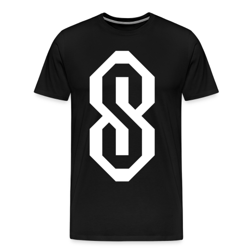 White S Logo - Men's Premium T-Shirt