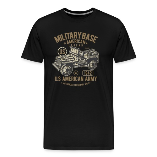 JEEP AMERICAN ARMY - Men's Premium T-Shirt