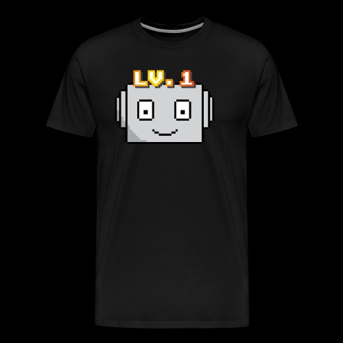 Beginner Bots Mascot - Men's Premium T-Shirt