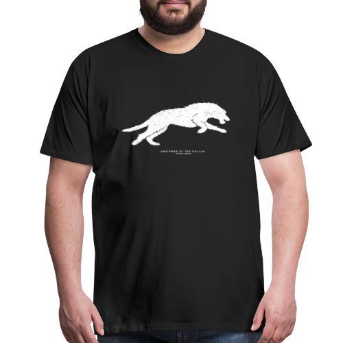 Running Wolfhound - Men's Premium T-Shirt
