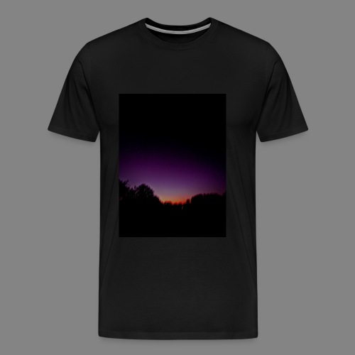 purple sunrise - Men's Premium T-Shirt