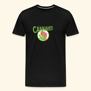CANNAVIST logo - Men's Premium T-Shirt
