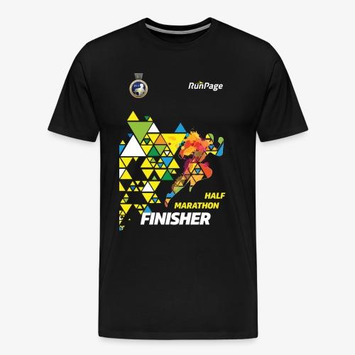 Half Marathon Finisher Shirt - Men's Premium T-Shirt