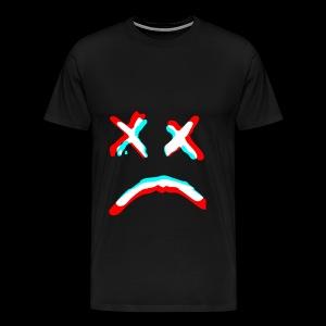 Sad face - Men's Premium T-Shirt