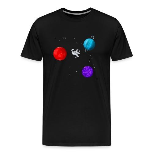 Lonely Astronaut - Men's Premium T-Shirt