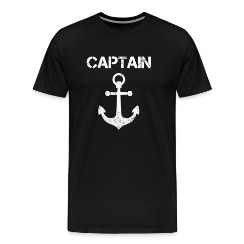 Captain Anchor - Men's Premium T-Shirt