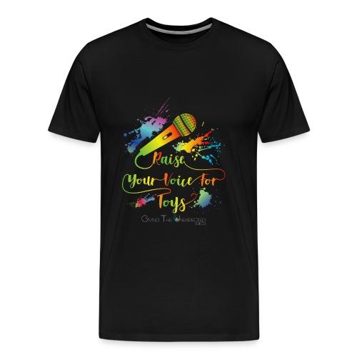 GTU Toy Drive Glow Shirt - Men's Premium T-Shirt