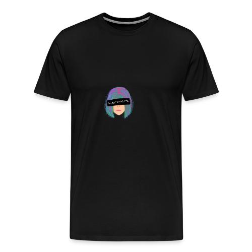 Introvert Graphic Tee - Men's Premium T-Shirt
