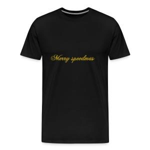 Merry speedmass christmas - Men's Premium T-Shirt