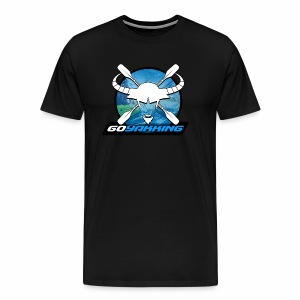 Go Yakking Blue - Men's Premium T-Shirt