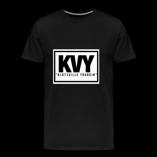Klotzville Youngin Box Logo - Men's Premium T-Shirt