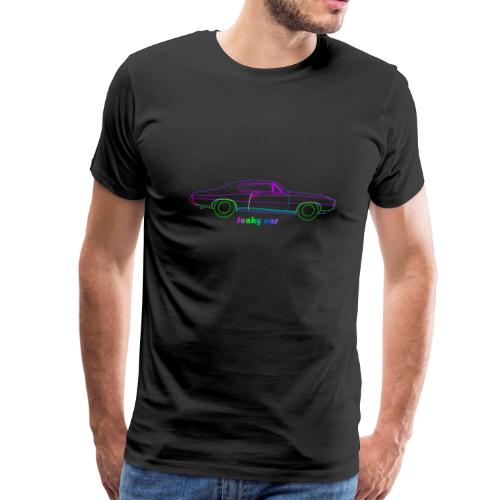 funky car-shirt - Men's Premium T-Shirt