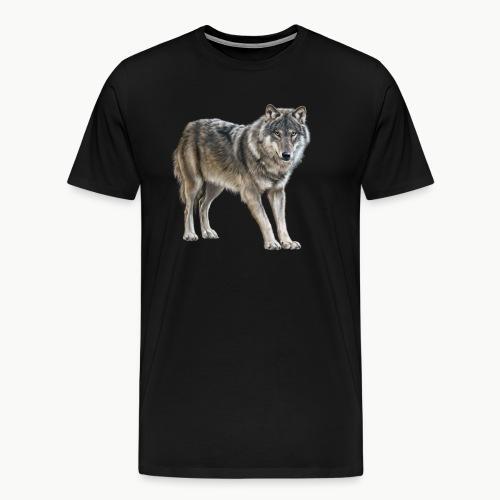 european wolf - Men's Premium T-Shirt