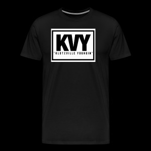 Klotzville Youngin Box Logo - Men's Premium T-Shirt