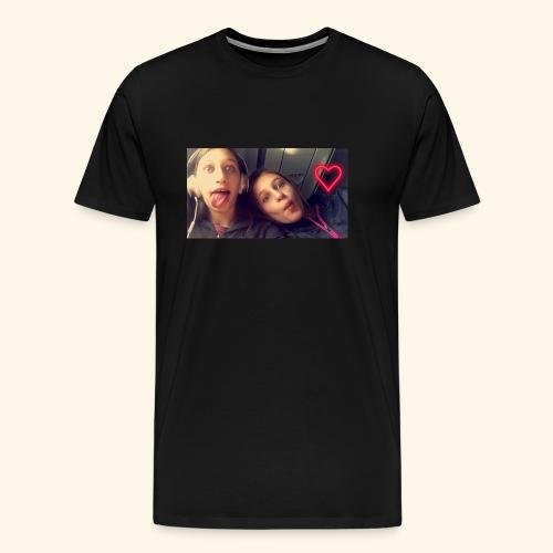 Madison and Dylan Selfie - Men's Premium T-Shirt