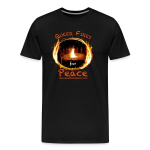 Queer Fires for Peace - Men's Premium T-Shirt