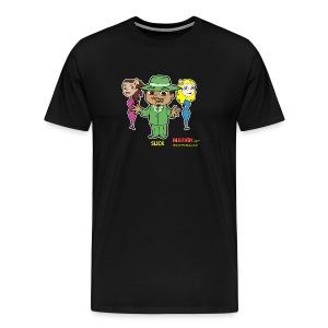 Slick from Marvin the Simp Cartoon - Men's Premium T-Shirt
