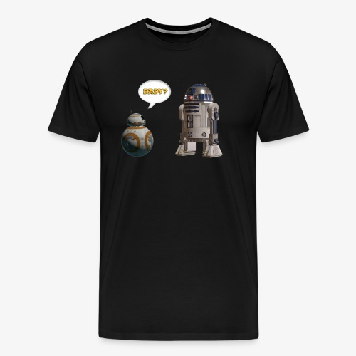 BB8 R2D2 Are you my dady? - Men's Premium T-Shirt