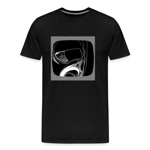 Moon Man in the Tube - Men's Premium T-Shirt