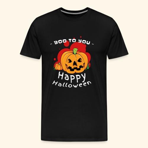 boo to you - pumpkin - Men's Premium T-Shirt