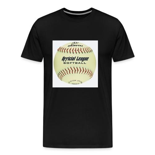 Softball - Men's Premium T-Shirt