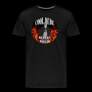 cool dude rupert willis © - Men's Premium T-Shirt