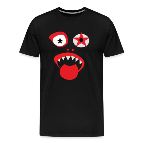 Grazy Clown Face - Men's Premium T-Shirt