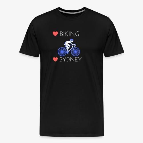 Love Biking Love Sydney tee shirts - Men's Premium T-Shirt