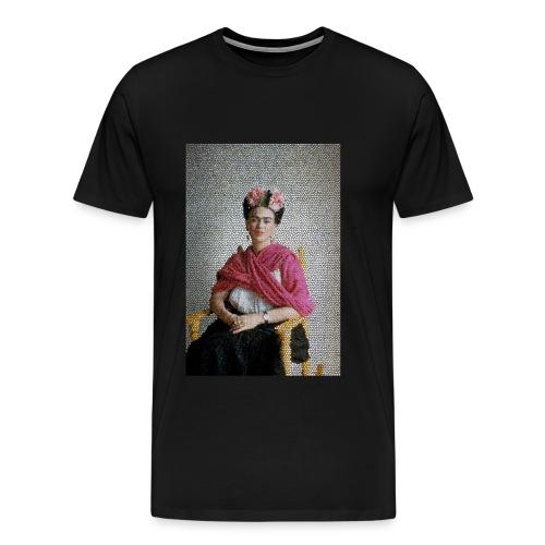 Stained Glass Frida - Men's Premium T-Shirt